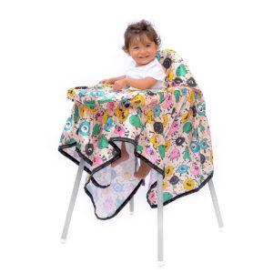 Midimini Tojo Baby Mama Sandalyesi Örtüsü