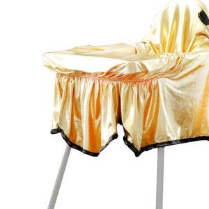 Mama Sandalyesi Örtüsü PARTY Gold