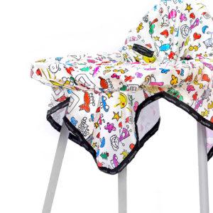 Mama Sandalyesi Örtüsü Klasik